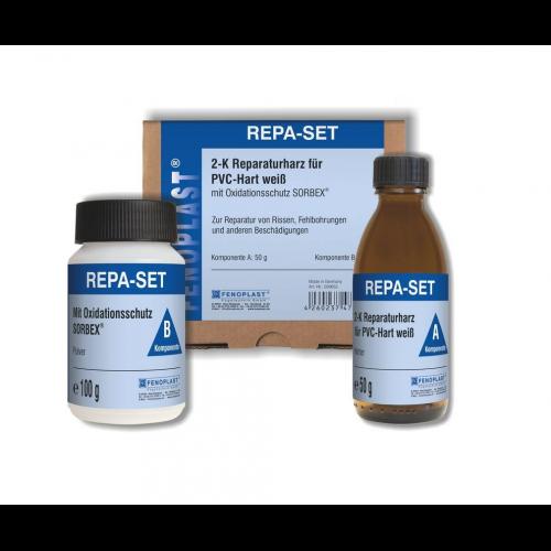 Fenoplast Repa-Set weiss PVC-hart 2-K-Reparaturharz 200653
